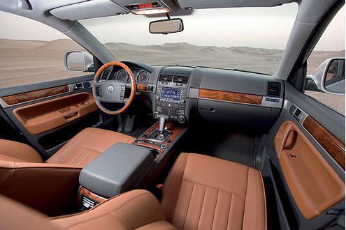 Gewohnter Luxus im gelifteten SUV aus Wolfsburg.