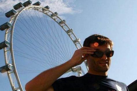Mark Webber möchte in Singapur mit dem Red Bull RB5 hoch hinaus