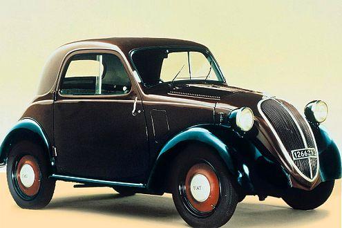"""Stammvater: Der """"Topolio"""" kam zuerst mit 13-PS-Motor."""