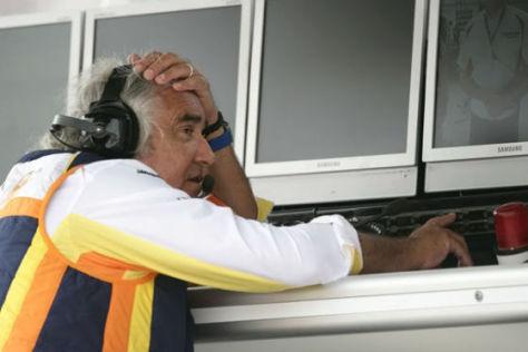 Lebenslang für sämtliche F1-Posten gesperrt: Ex-Renault Teamchef Flavio Briatore