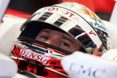 Bestzeit: Jarno Trulli bescherte Toyota ein kleines Geschenk vor dem Qualifying