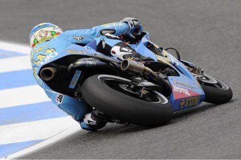 Diese Perspektive konnte Loris Capirossi in Estoril nicht allen Konkurrenten bieten...