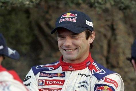 Sébastien Loeb hat gut lachen: In Spanien läuft für ihn alles nach Plan