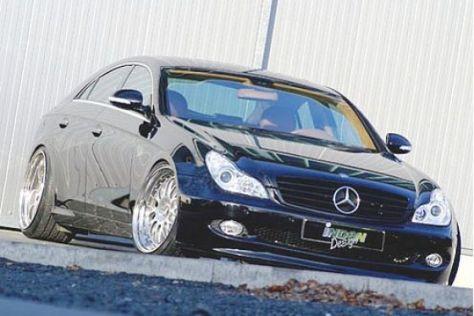 Mercedes CLS mit Rundumpaket