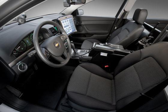 Chevrolet Caprice Police Patrol Vehicle Ppv V8 Für Us Cops Autobild De