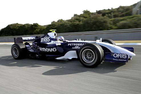 Schnelle Kombination: Rosberg im neuen Williams-Toyota-FW-29.