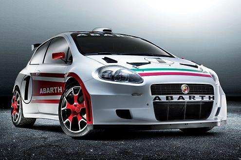 Italienische Rennsemmel: Die Rallyeversion des Grande Punto Abarth