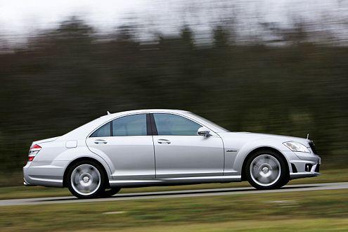 Mehr Luxus als Sport: der Mercedes-Benz S 63 AMG.