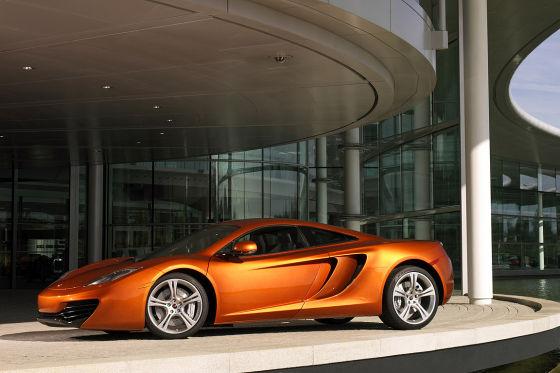 Kriegserklärung an Mercedes: Der eigenständig von McLaren entwickelte Supersportwagen MP/4-12C