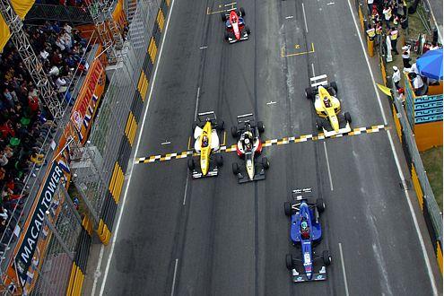 Der erste große Sieg. Formel 3 Macao 1995 mit Opel Dallara.