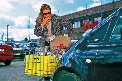 Parkplatzschaden Wer Zahlt Das Autobild De