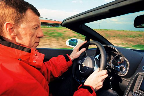 Walter Röhrl: Deutschlands (bislang) einziger Rallye-Weltmeister, ein Virtuose am Steuer.