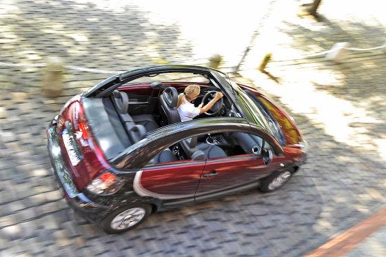 Vergleich: Fiat 500C, Smart fortwo Cabrio, Citroën C3 Pluriel