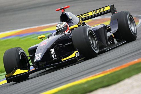 Nico macht auch in den 600 PS-Boliden der GP2 eine gute Figur.