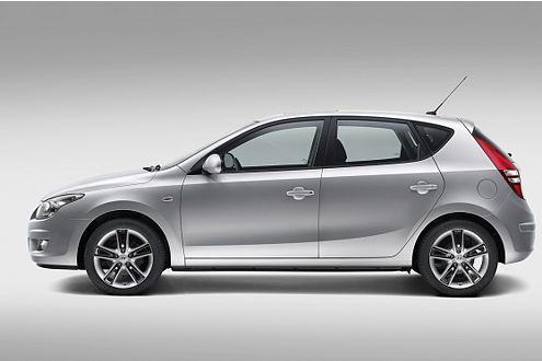 Hyundai i30: Die Zahl steht fürs Kompakt-Segment.