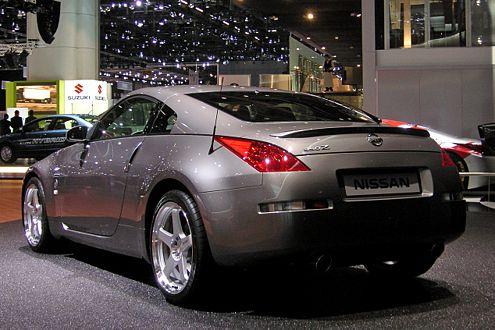 Facelift Nissan 350Z: Der V6 drückt nun 313 PS auf die Kurbelwelle.