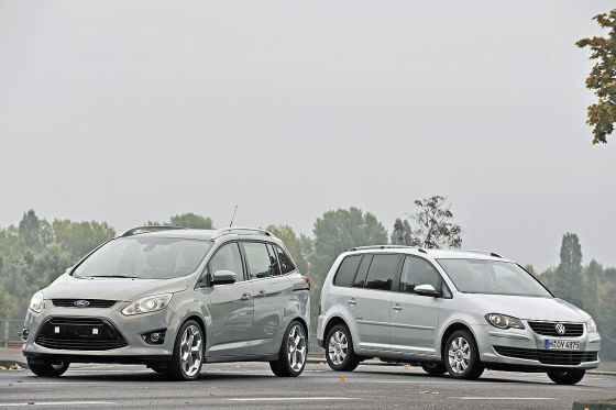 Ford Grand C-Max VW Touran