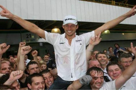 Jenson Button ist der zehnte britische Weltmeister der Formel-1-Geschichte
