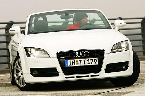 Dem Audi TT Roadster reichen knappe 5,8 Sekunden bis Tempo 100.
