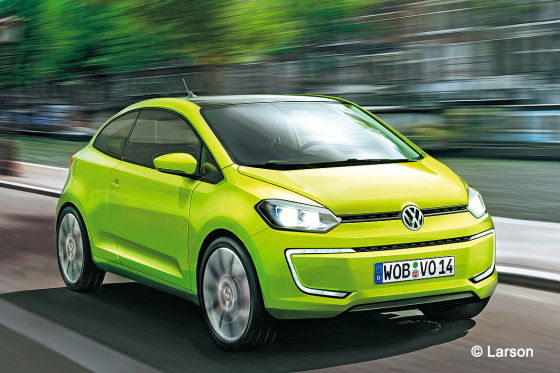 VW up! Illustration