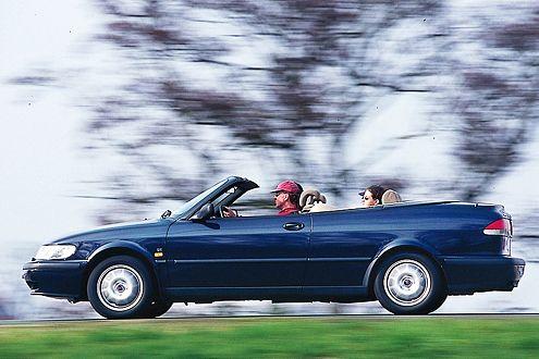Das individuelle 9-3 Cabrio empfiehlt sich als gemütlicher Cruiser.