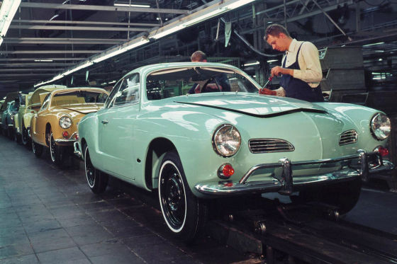 Karmann Ghia Produktion