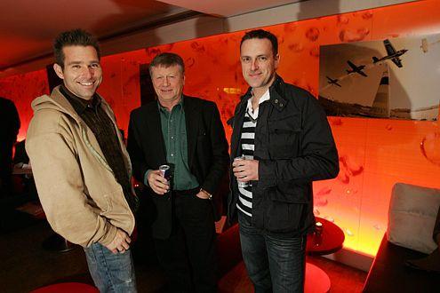 Die deutschsprachigen Piloten: Hannes Arch (AUT, 38), Klaus Schrodt (GER, 60), Matthias Dolderer (GER, 37).