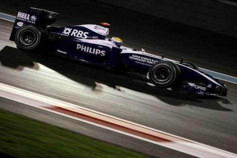 Nico Rosberg im Zwielicht von Abu Dhabi: Die Setup-Richtung stimmt