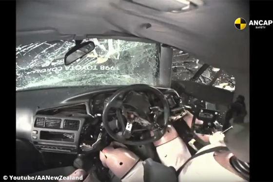 So gefährlich ist ein Auto ohne Airbag