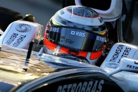 Nico Hülkenberg durfte als Testpilot bei Williams schon einige Kilometer abspulen