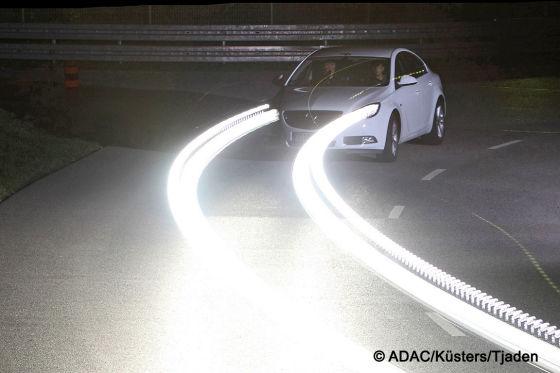 ADAC Scheinwerfertest 2009