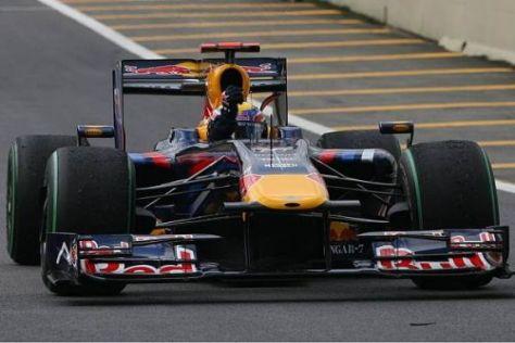 Mark Webber möchte auch 2010 reichlich Gelegenheiten zum Siegesjubel haben