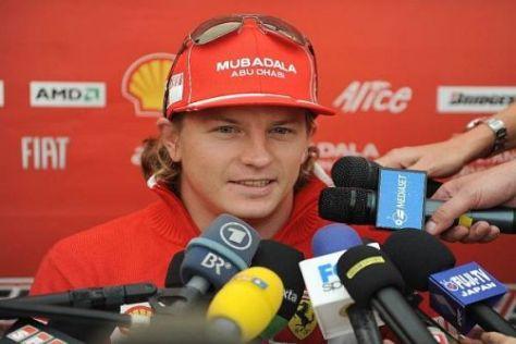 Kimi Räikkönen ist enttäuscht darüber, dass er eine Auszeit nehmen muss