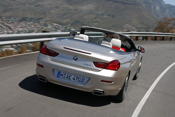 BMW 6er Cabrio F12