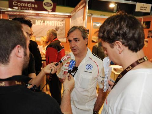 Rallye Dakar 2010: Carlos Sainz auf VW Race Touareg 2