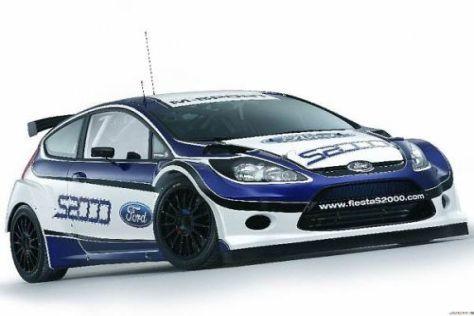 Der Fiesta S2000 wird in Monte Carlo erstmals richtig im Einsatz sein