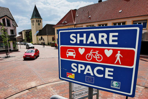 Shared Space in Bohmte