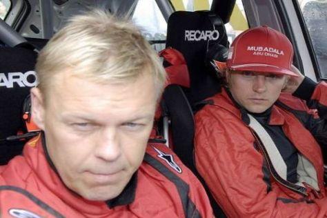 Kaj Lindström und Kimi Räikkönen bestreiten im Januar die Arctic-Rallye