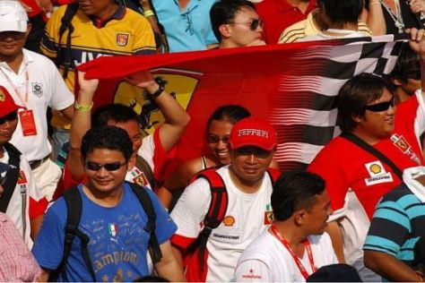 In den asiatischen Ländern wird das Interesse für die Formel 1 immer größer