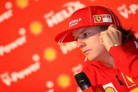 Kimi Räikkönen wechselt im kommenden Jahr in die Rallye-Weltmeisterschaft