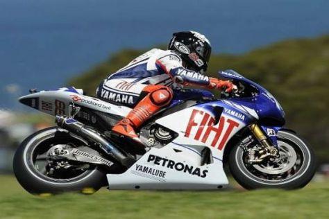 Jorge Lorenzo prophezeit den Fans 2010 einen heißen Tanz um den MotoGP-Titel