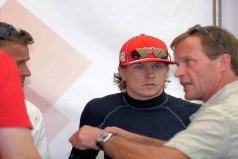 Die entspannte Atmosphäre in der Rallye-WM gefällt Kimi Räikkönen