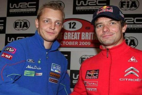 Mikko Hirvonen und Sébastien Loeb: Zwei Rivalen auf ihrem Weg zum Titel