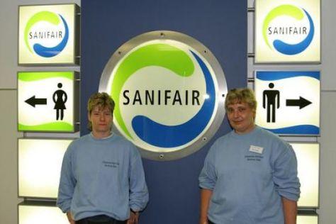 Sanifair erhöht Preise