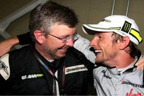 Jackie Stewart meint, Jenson Button hätte im Team Ross Brawns bleiben sollen