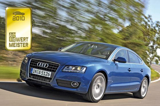 Audi A5 Sportback Wertmeister 2010