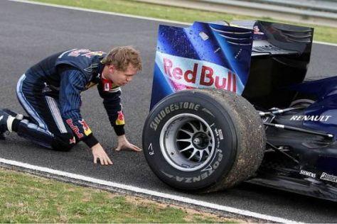 Sebastian Vettel wird auch 2010 wieder einen Renault-Motor im Heck haben