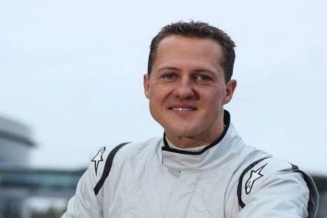 Motiviert bis in die Haarspitzen: Michael Schumacher beim GP2-Test in Jerez