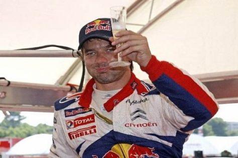 Sébastien Loeb will auch 2010 reichlich Anlass zum Feiern haben