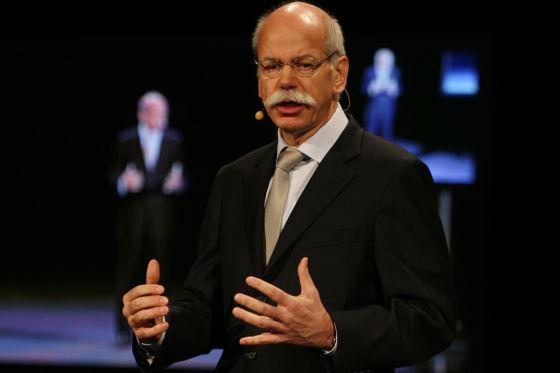 Freut sich über sein deutsches Nationalteam: Daimler-Boss Dieter Zetsche.